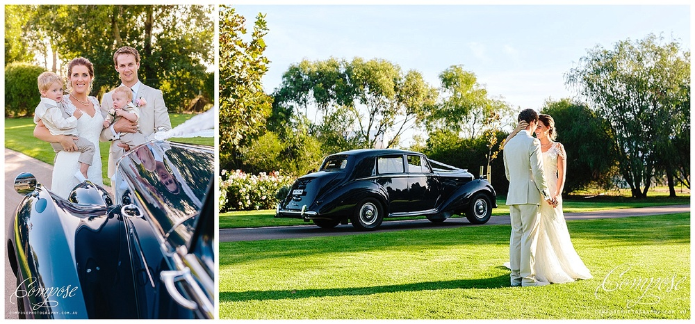 vintage wedding car perth