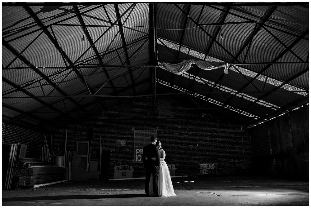 warehouse wedding fremantle