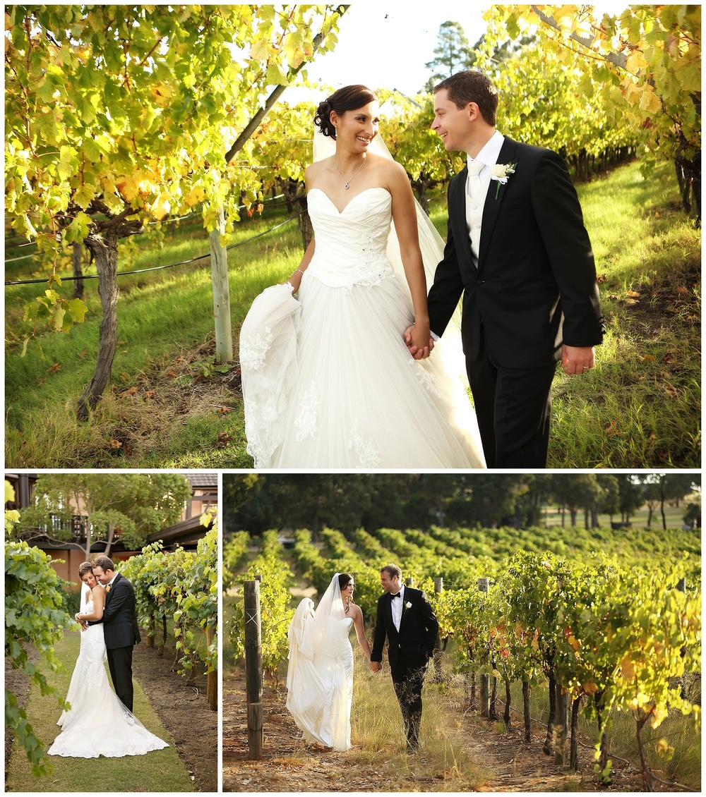 vineyard wedding swan valley