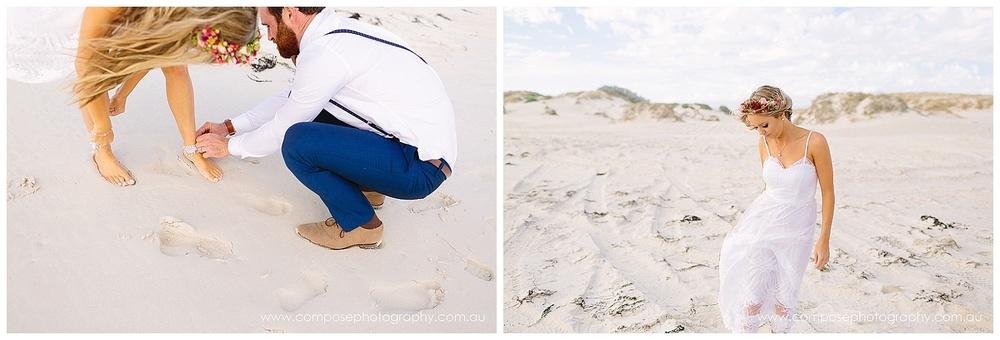 perth beach wedding