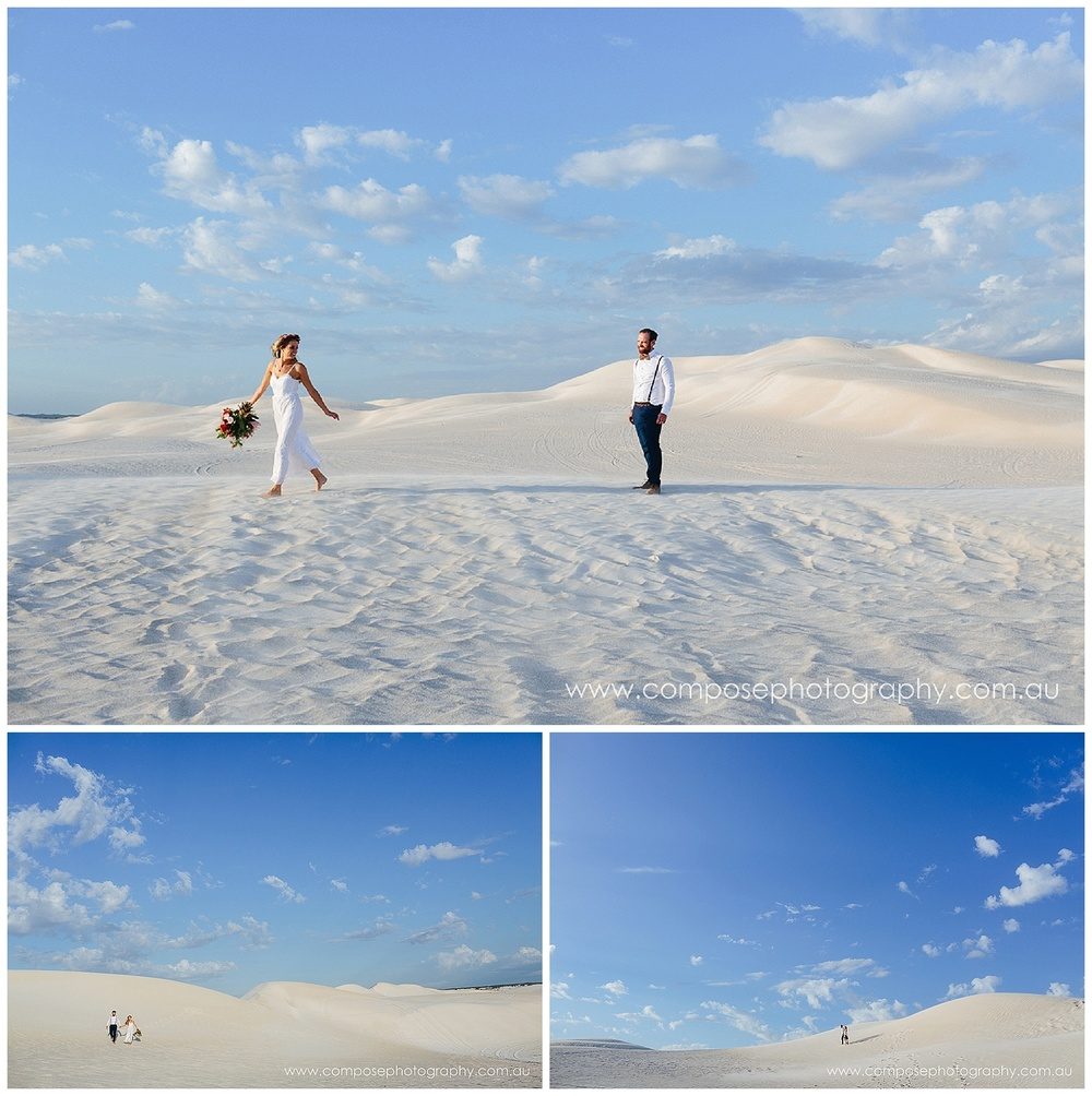 Sand Dunes wedding