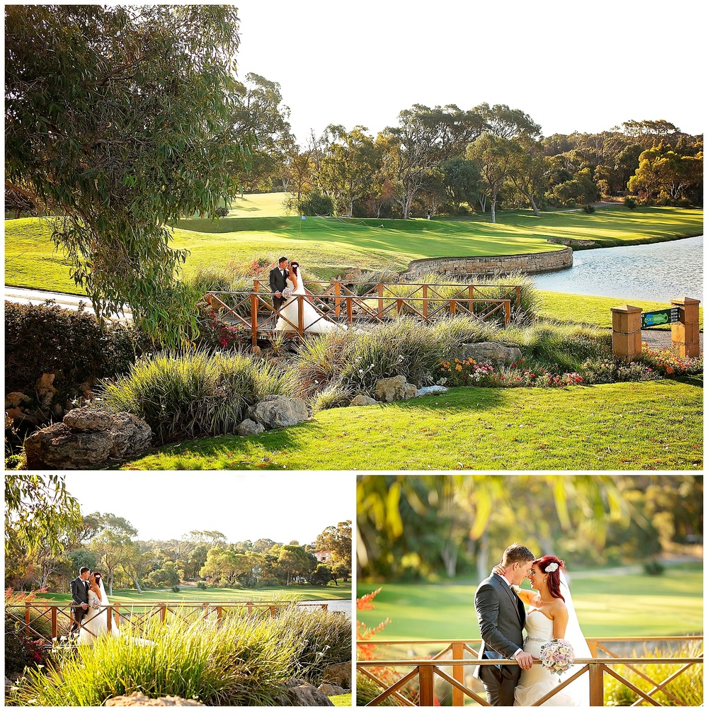 joondalup golf course wedding