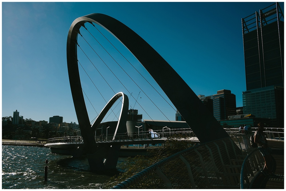 Bridge at Elizabeth Quay