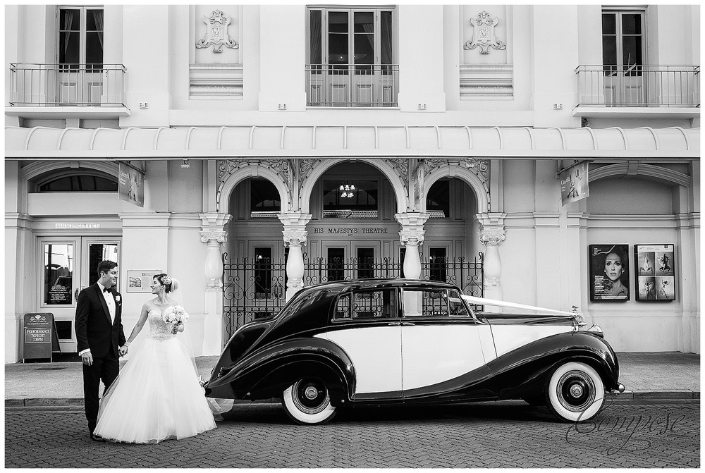 rolls royce wedding car perth