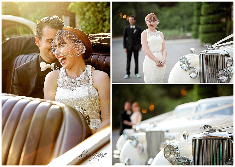jaguar wedding car perth