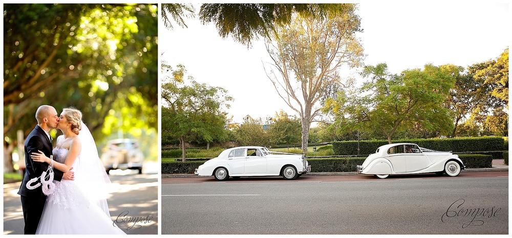 classic wedding car perth