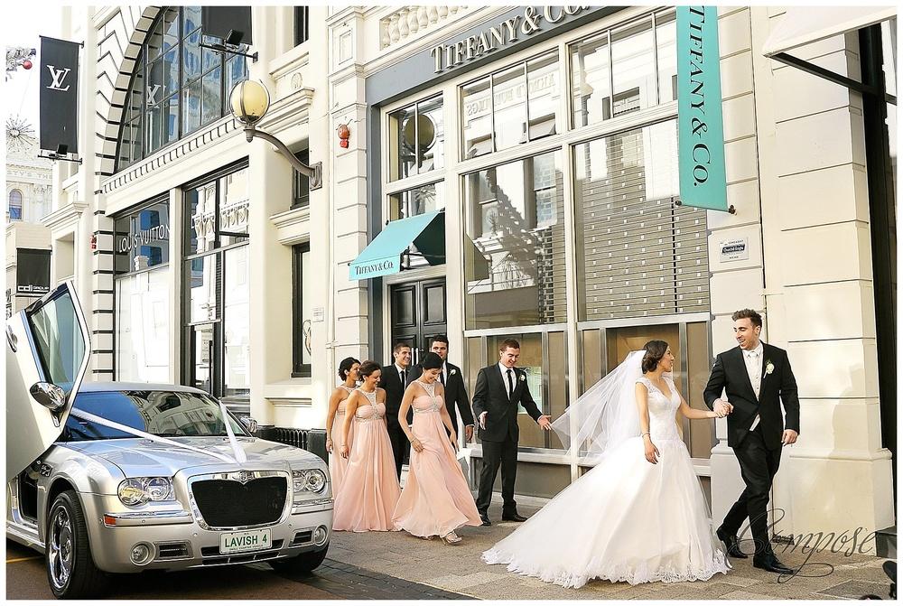 King St Wedding