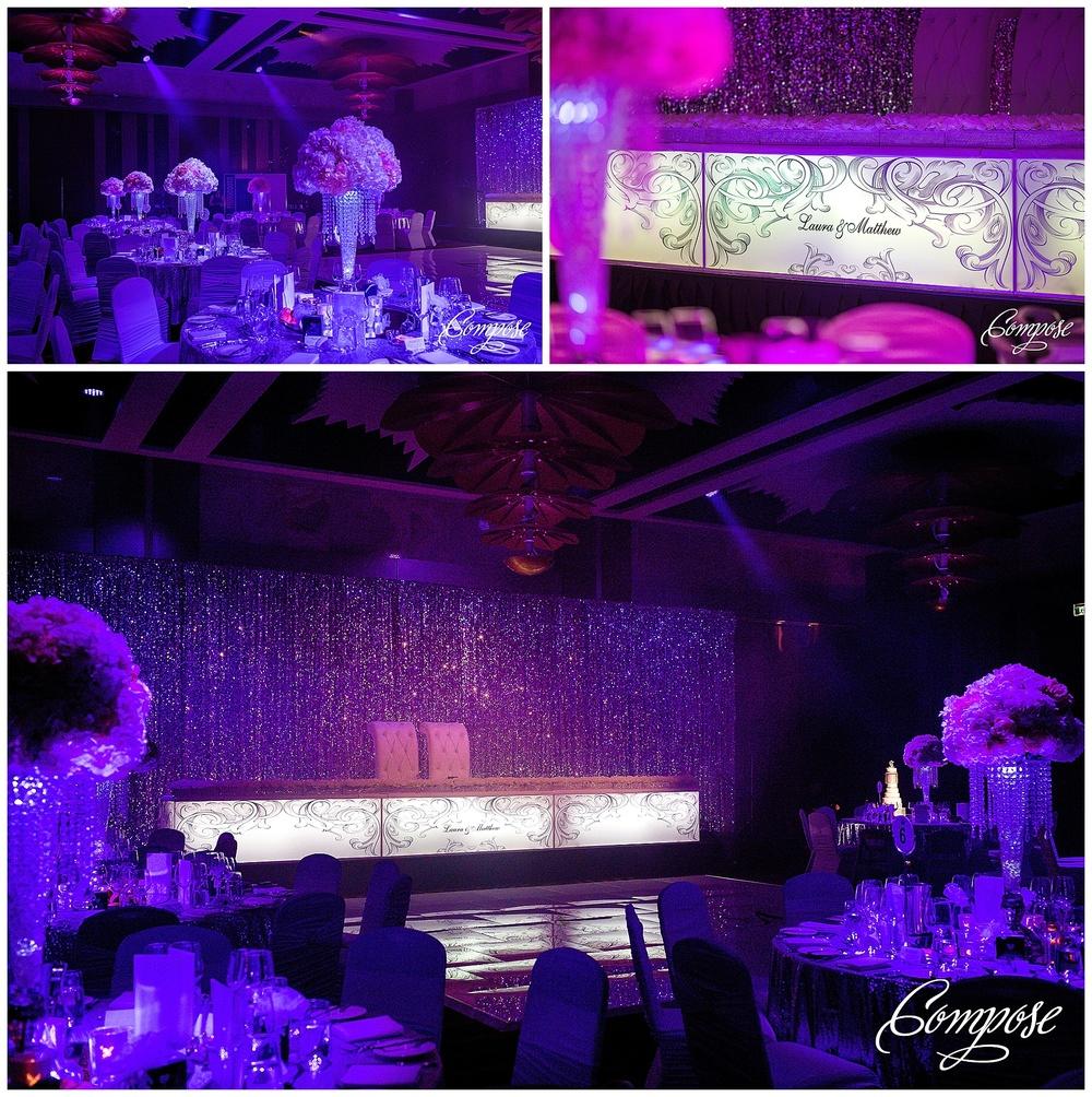 WEDstyle illuminated bridal table