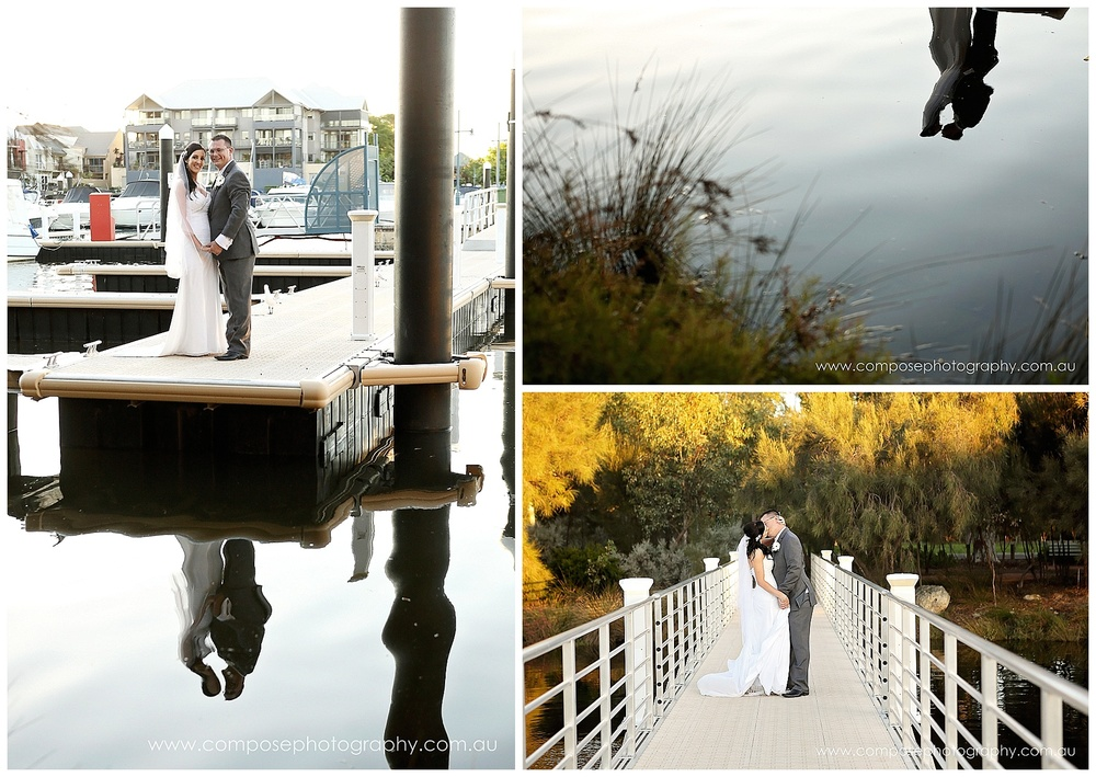 Ascot Quays Wedding feature by Perth Wedding Photographer Compose