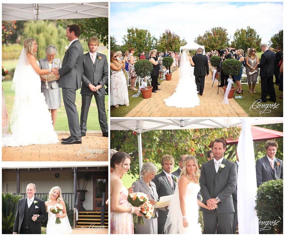 Merlot Lawn wedding ceremony
