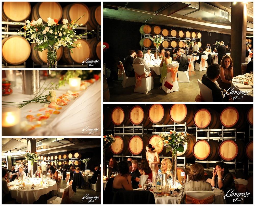Vintage wedding reception Swan Valley