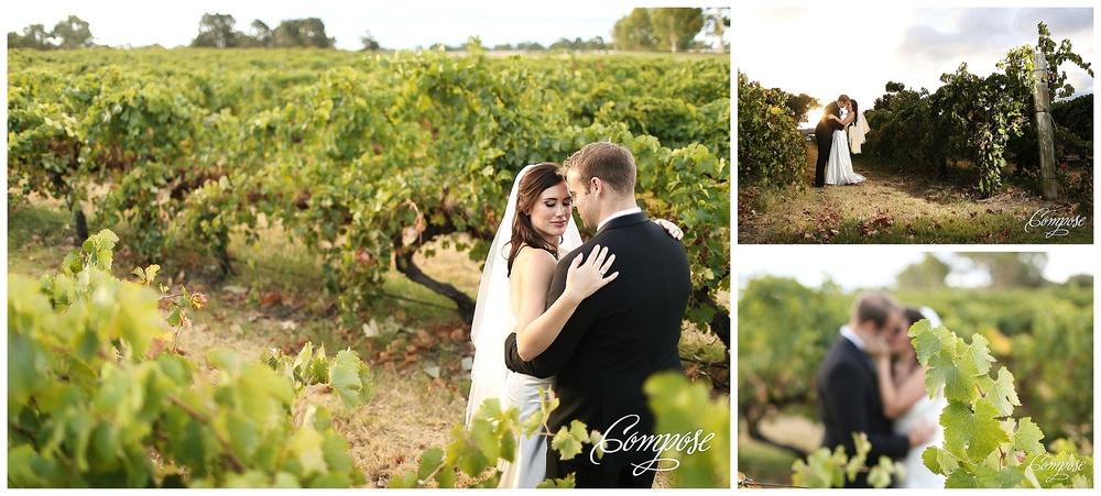 Vineyard wedding swan valley