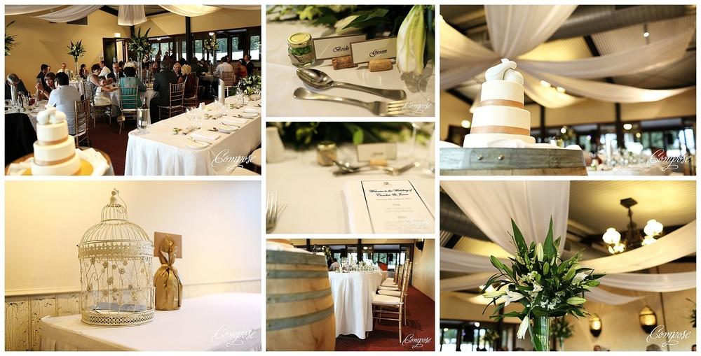 Sandalford wedding reception