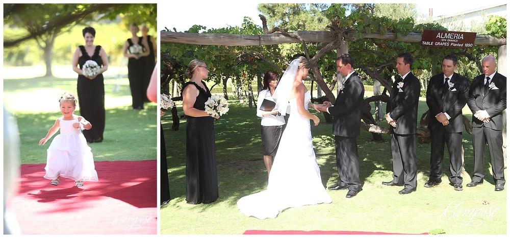 Swan Valley wedding ceremony location