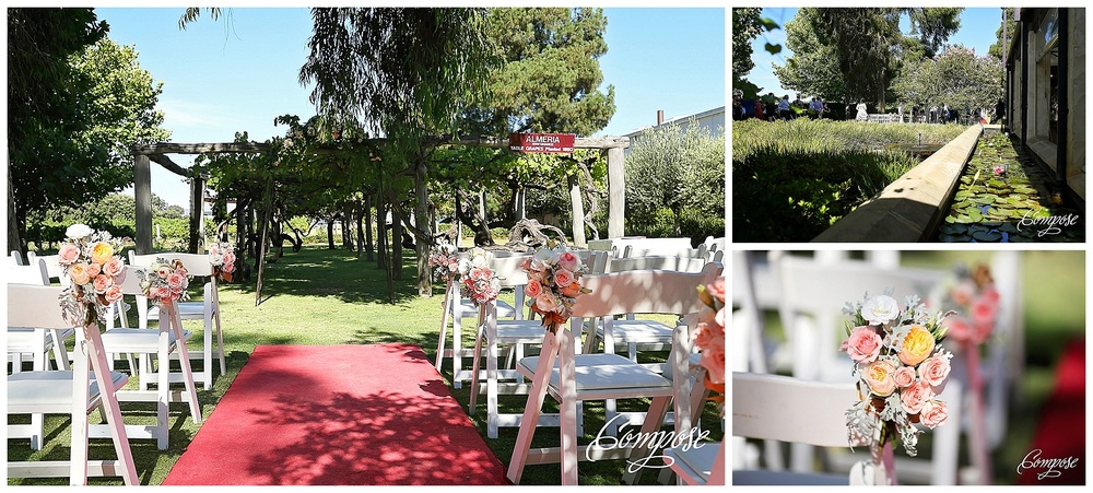 Ceremony styling Perth