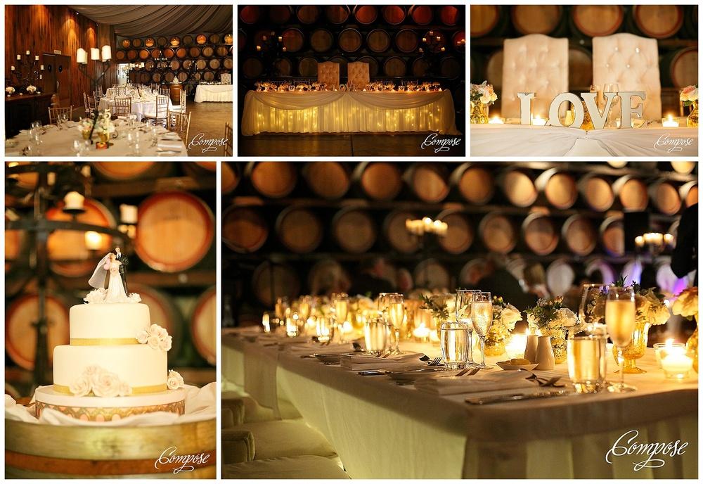 Barrel Room Wedding Reception