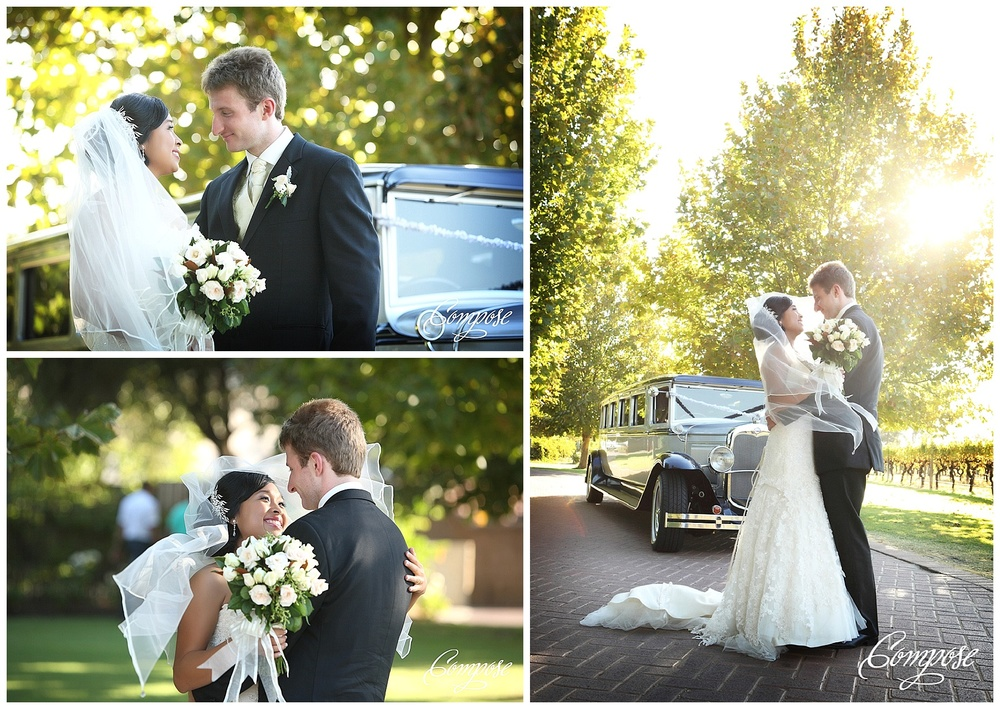 A Old Limo wedding