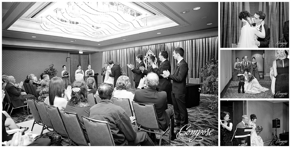 Hyatt Perth Ballroom wedding ceremony