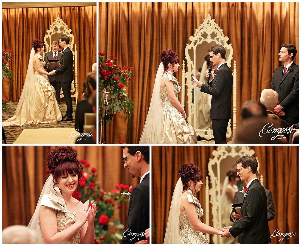Wedding ceremony at Hyatt Perth