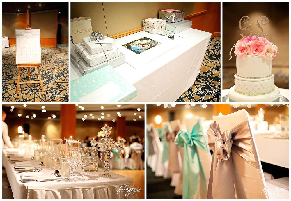 Hyatt Terrace ballroom wedding