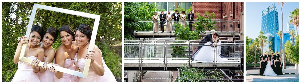 Brookfield place wedding photo