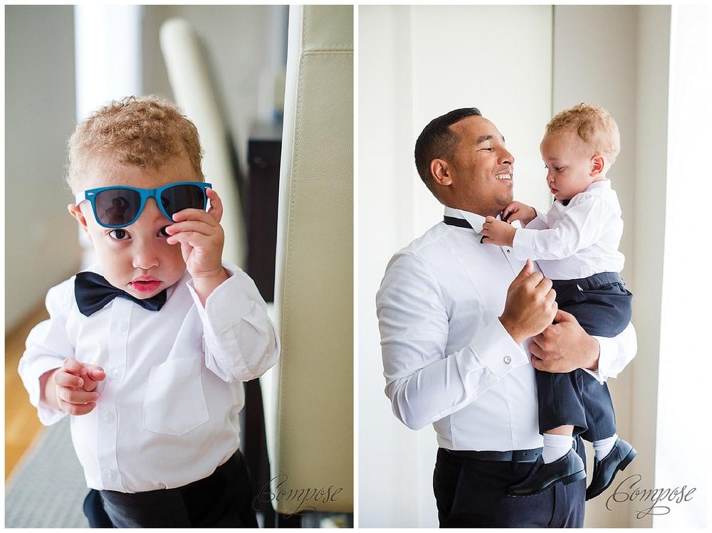 Weddings with children