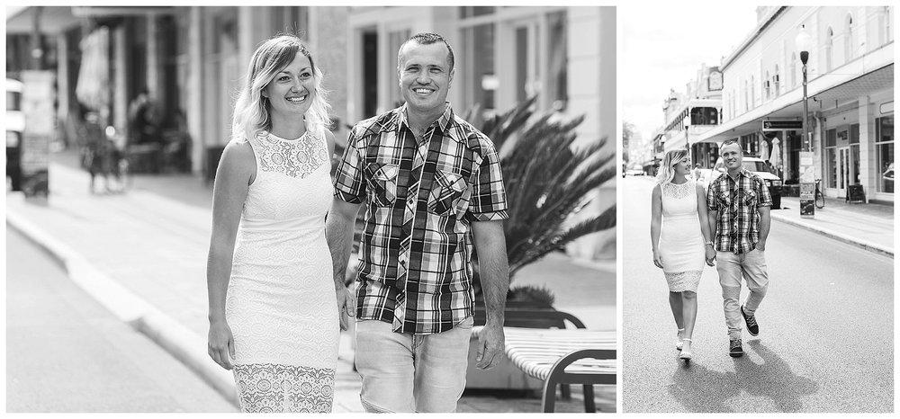 Engagement portrait Fremantle