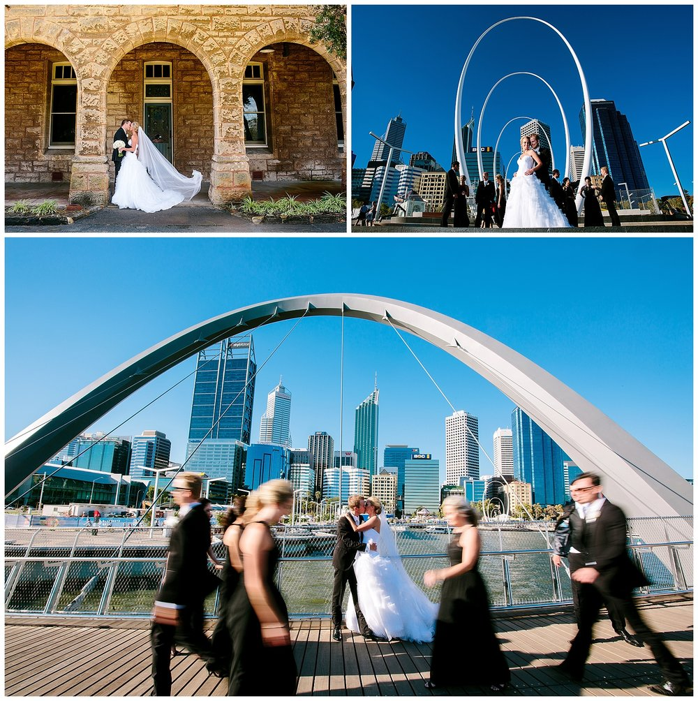 Elizabeth Quay Wedding