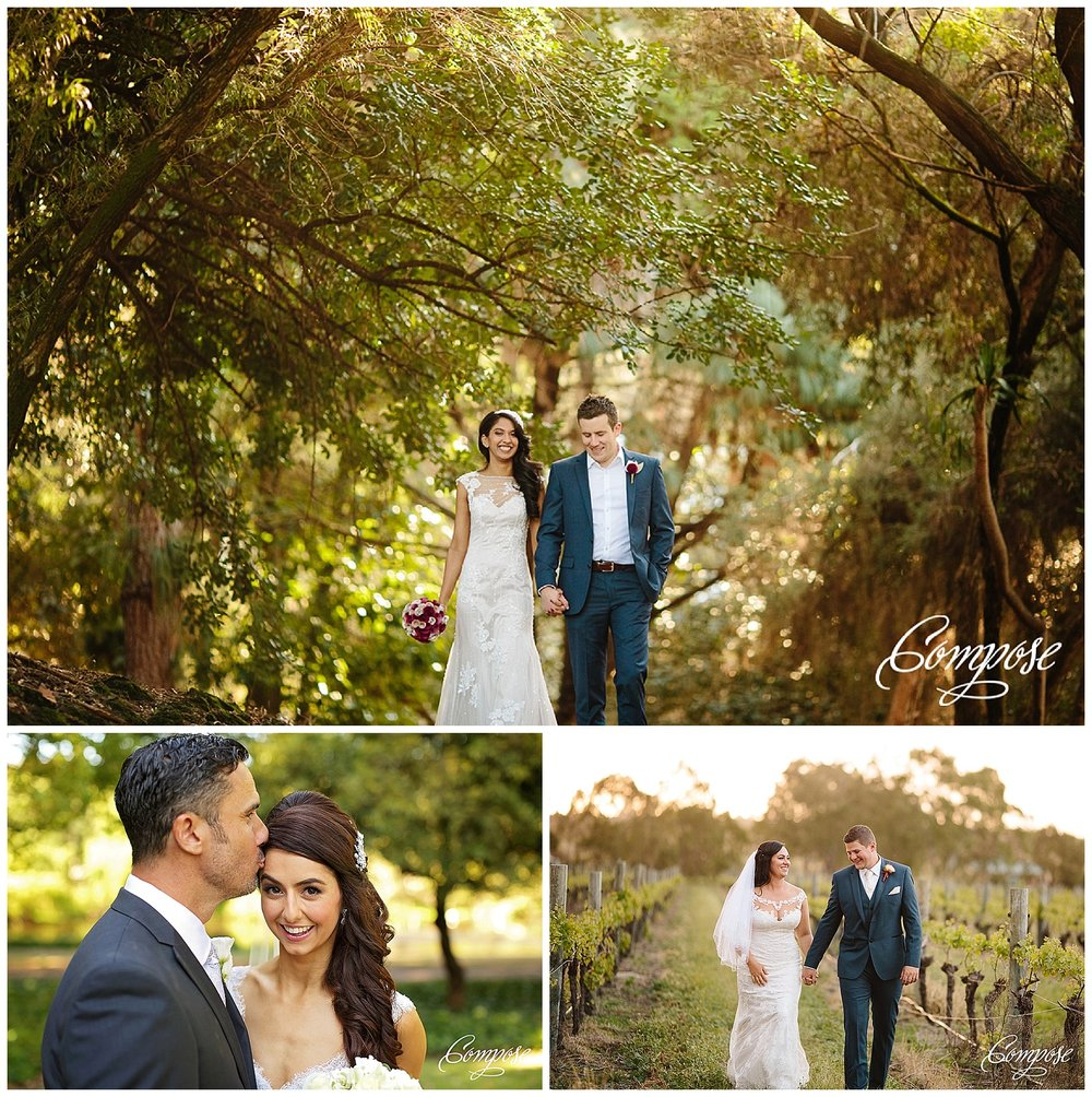 Garden wedding Perth