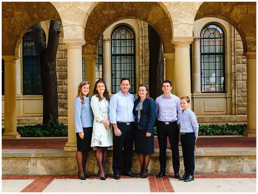 Classic Family Portrait Perth