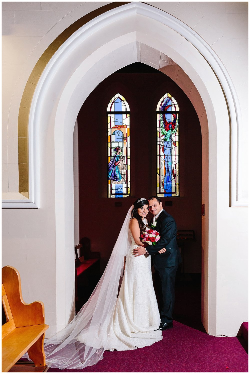 Highgate Church wedding