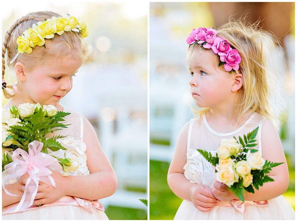 Flowergirl head crown