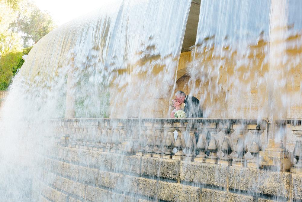 waterfall at Caversham House