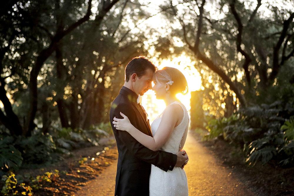 Sunset Swan Valley Wedding
