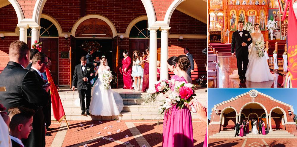 Perth Macedonian wedding ceremony