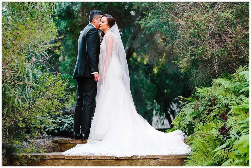 Sunken Garden wedding