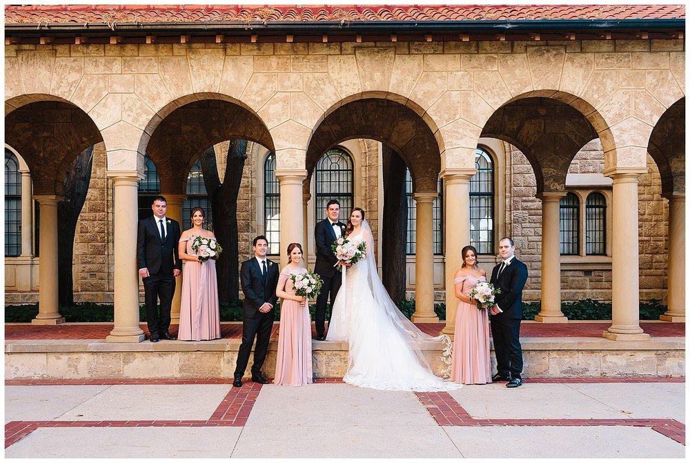 Wedding photography at UWA
