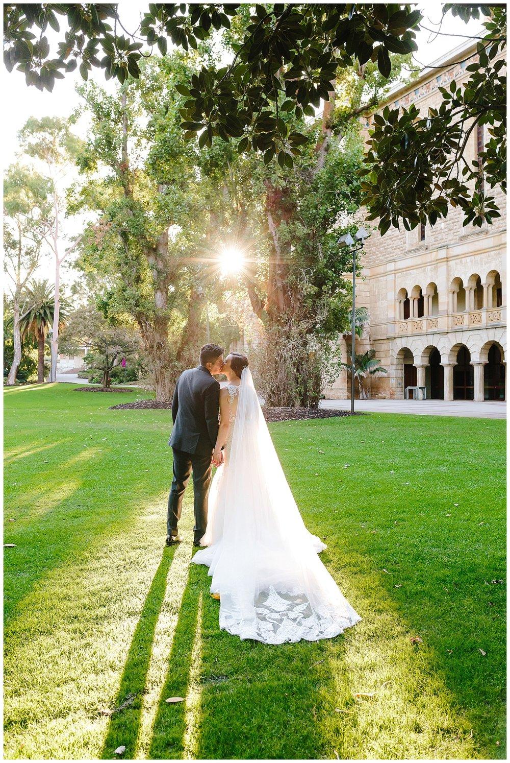 Wedding photos at UWA
