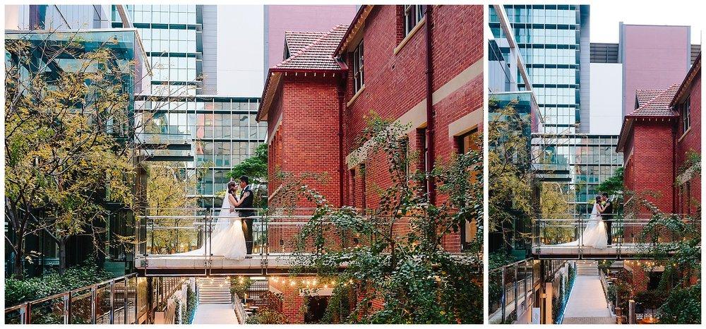 Brookfield Place wedding photo