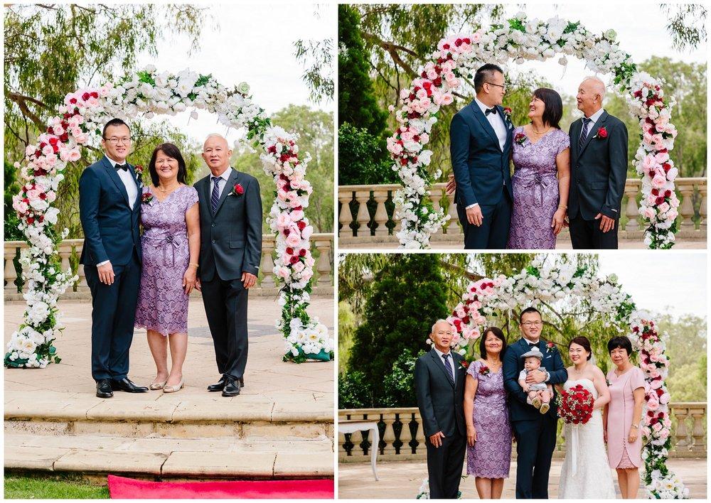 wedding ceremony Swan Valley