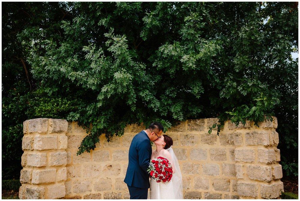 Swan Valley wedding photo