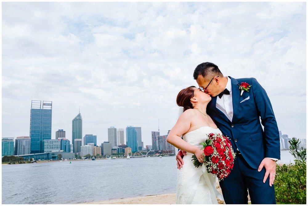 Perth city wedding