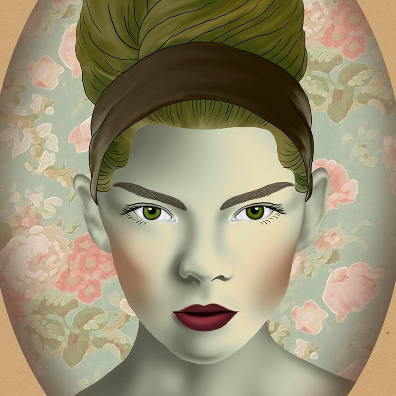 Surreal Faces  Portraits