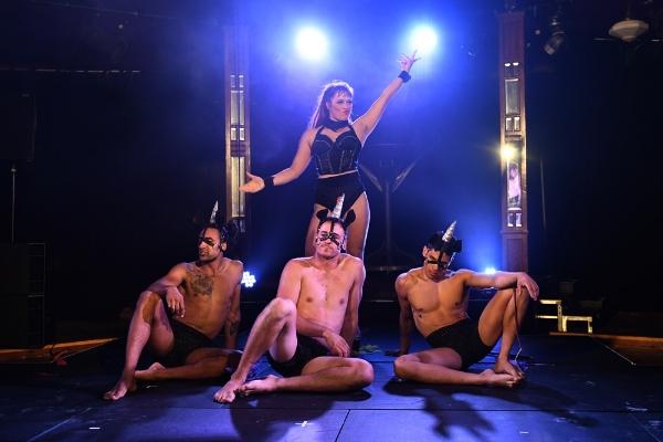 From left: Andre Augustus, Chris Carlos, Tara Silcock, Paul Westbrook  Photo courtesy of Brig Bee