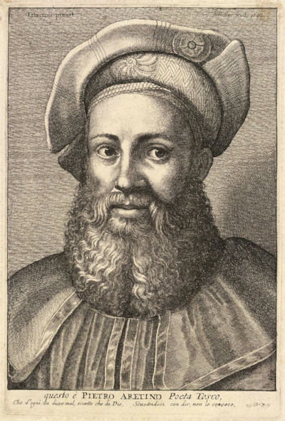 Pietro Aretino - Father of pornography and winner of world's most luxurious beard