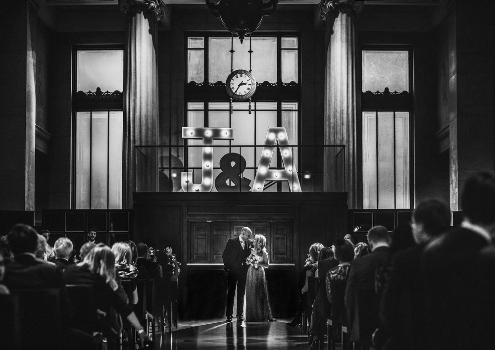 Wedding at the Banking Hall