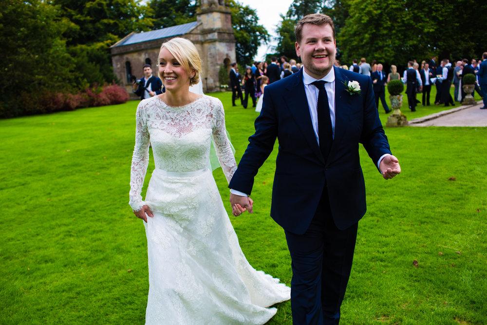 PHOTO CREDIT:NIEMIERKO  Julie and James Corden|Babington House