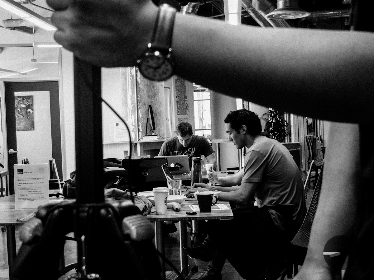 BTS #6: Selfless Tee Past me are @selflesstee cofounders Josh and Danny working hard. Thanks again to my production assistant Nicole Velazco for taking these great BTS shots!