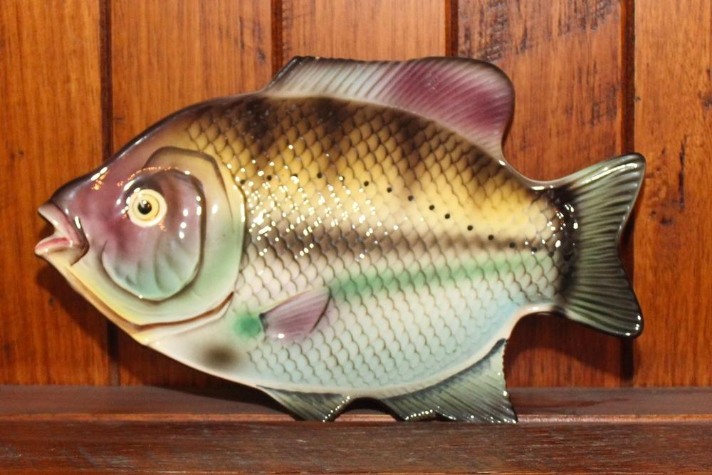 Vintage Fish Plate & My vintage fish collection \u2014 Retro Chick