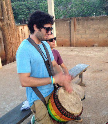 in my 5 months in ghana, I also I learned how to play the Djembe!